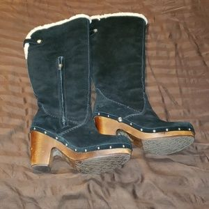 Black uggs  tall authentic